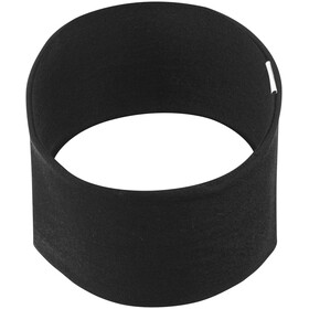 Buff 2 Layers Midweight Merino Wool Headband Solid Black